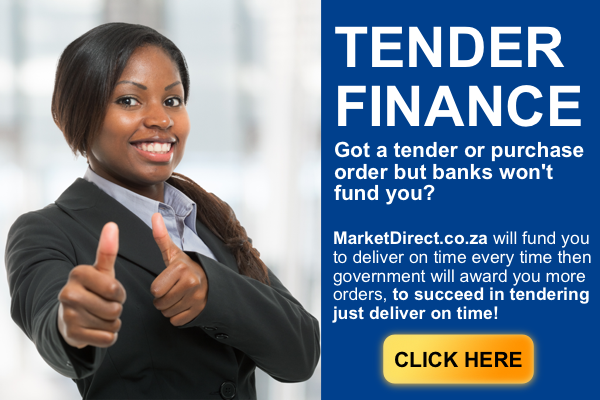 MarketDirect.co.za Tender And Purchase Order Finance