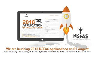 2018 NSFAS Bursary Applications Start On 1ST August!