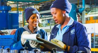 Nampak, a big packaging company, wants youth for Millwright job-training or learnership in Gauteng