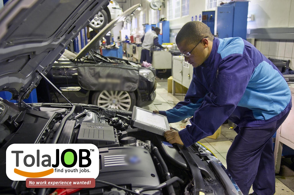 Toyota invites unemployed Grade 12 OR N3 youth for various artisan job vacancies or learnerships in KZN for 2018