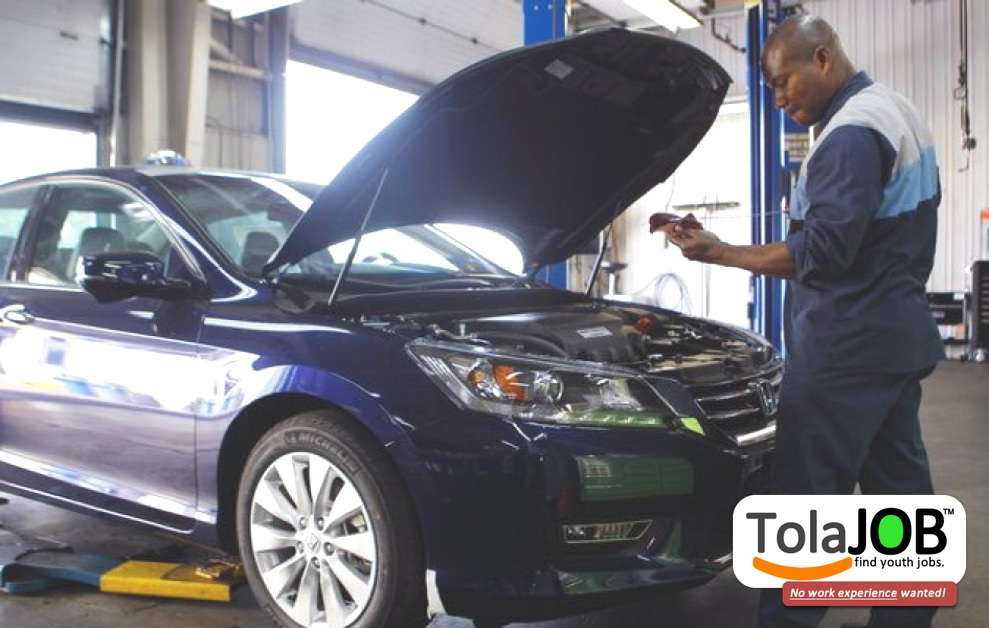 Toyota invites unemployed Grade 12 OR N3 youth for Auto Electrician Job-training or learnership for 2018