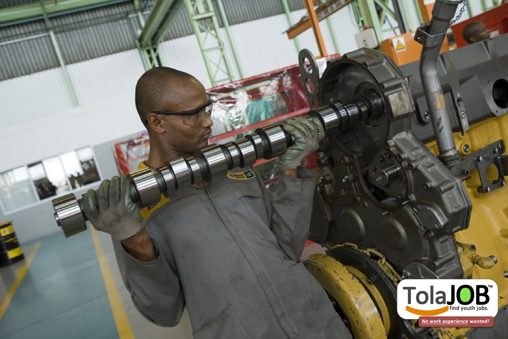Earn BIG MONEY be a Millwright! SAPPI invites YOU for job-training or learnership in KZN for 2018
