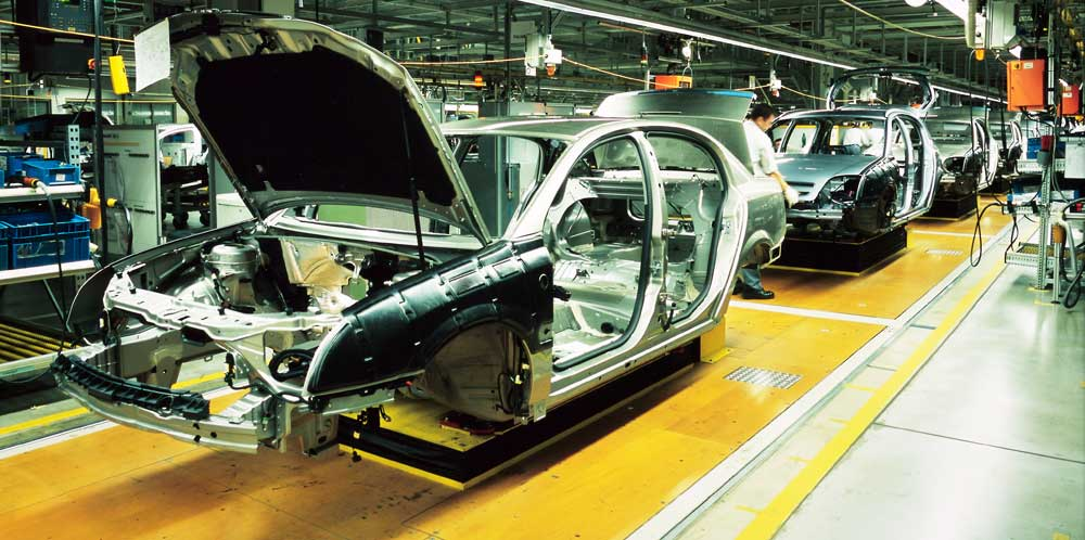 Toyota S4 In-Service In Industrial Engineering for