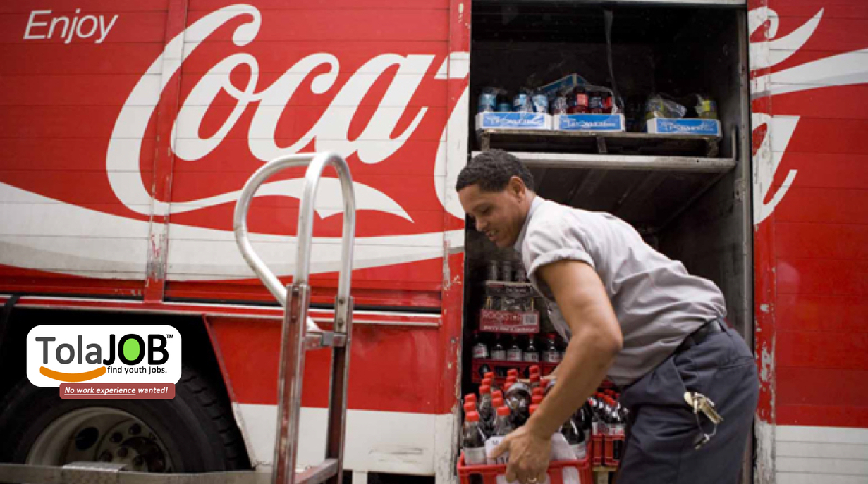 Coca Cola invites unemployed matriculants for sales job-training or learnerships in Umthatha for 2018