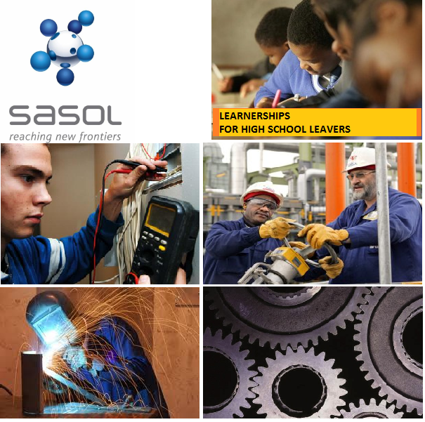 Sasol Learnership 2013 For High School-Leavers