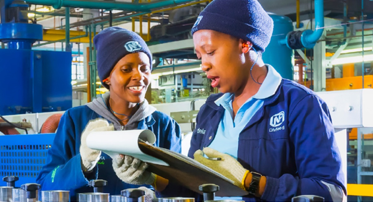 Nampak, a big packaging company, wants youth for Millwright job-training or learnership in Gauteng for 2018