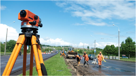 In-Service Land Surveying for