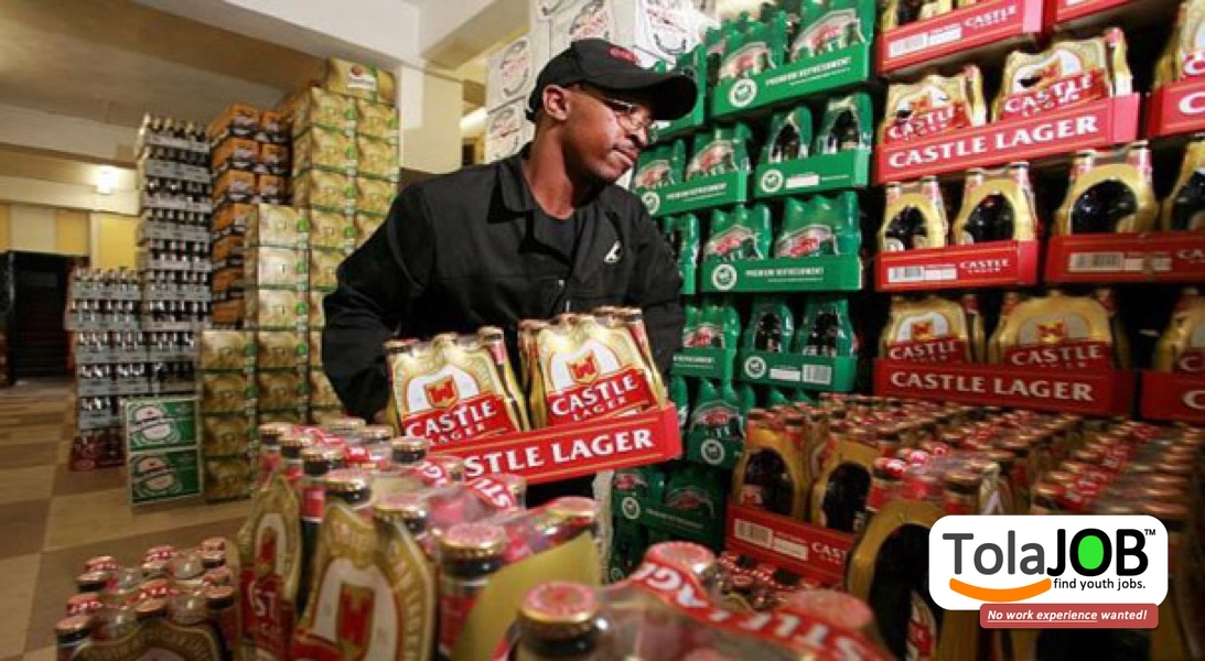 SABMiller wants grade 12 youth for Sales Job-training or learnership in Gauteng