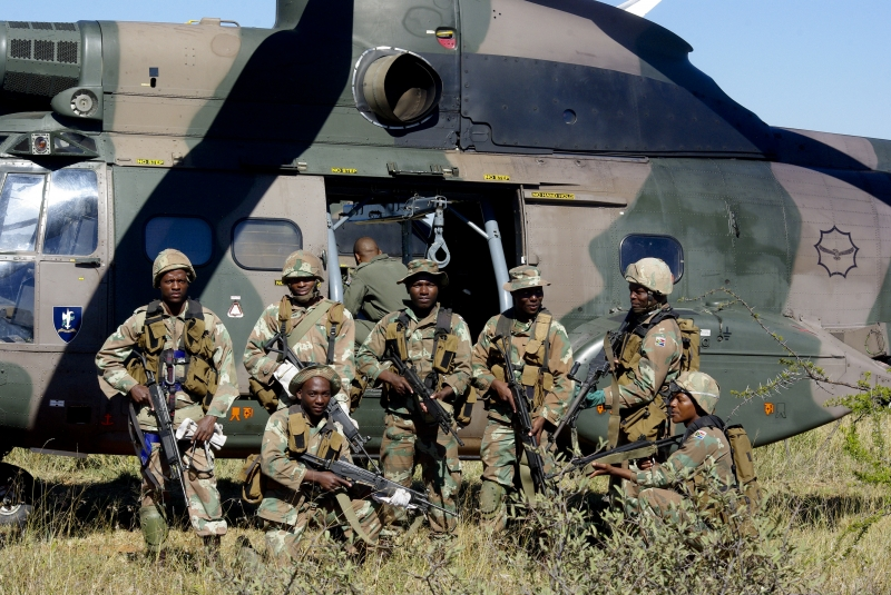SANDF Defense Intelligence Wants Unmployed Youth for 2017