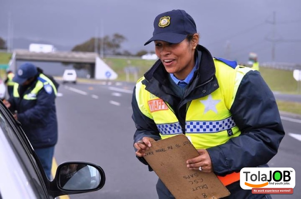 Do you want to be a Traffic Officer? Unemployed matriculents wanted for job-training in Western Cape for 2018