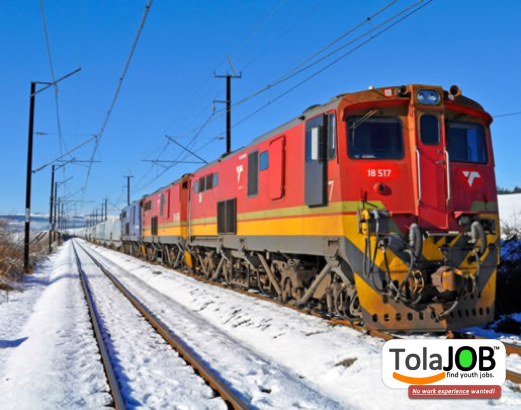 Transnet wants unemployed youth with Grade 12 for Train Assistant job-training or learnership in Thabazimbi for 2018