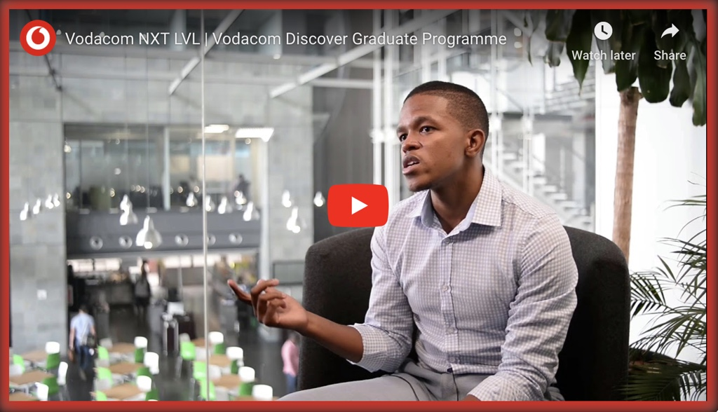 2020 Vodacom Tertiary Graduate or Final Year Student Internship Now Open for 2019 / 2022