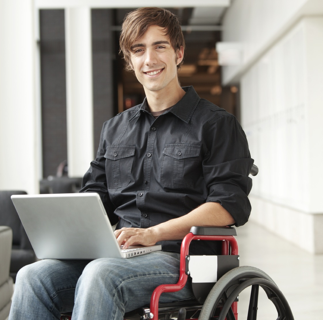 living with disability Living with disability disability service and self-help center adults with disabilities who are searching for employment may approach the bureau of rehabilitation for help in their efforts.